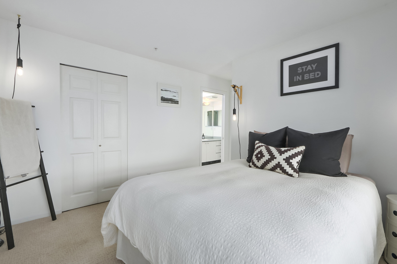 509-150 W. 22nd St - Master Bedroom at 509 - 150 W 22nd Street, Central Lonsdale, North Vancouver