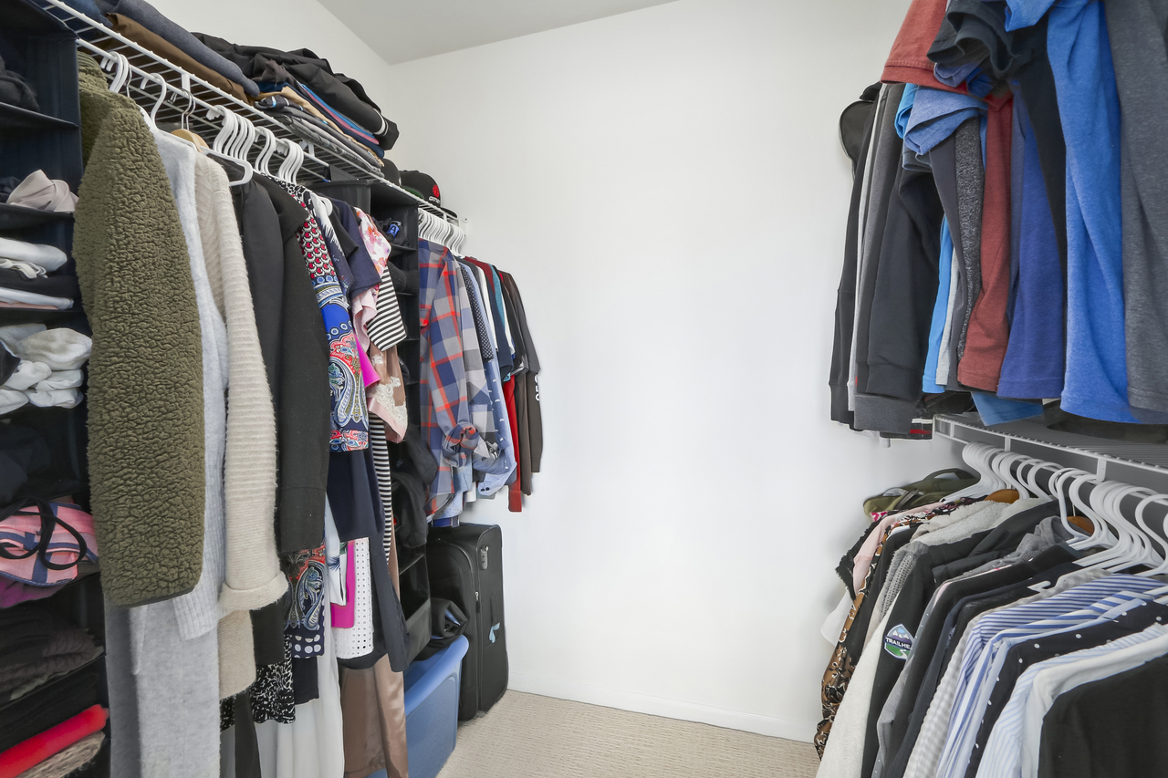 509-150 W. 22nd St - Walk in Closet at 509 - 150 W 22nd Street, Central Lonsdale, North Vancouver