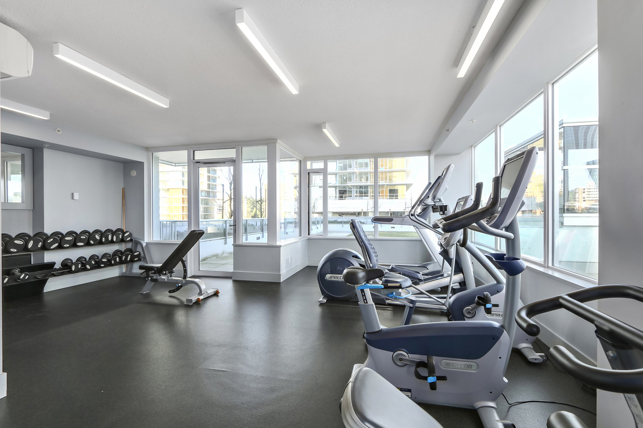 2207-6333 Silver Avenue - Gym at 2207 - 6333 Silver Avenue, Metrotown, Burnaby South