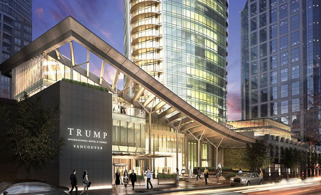 Trump Vancouver - West Georgia Entrance at 2602 - 1133 West Georgia Street, Coal Harbour, Vancouver West
