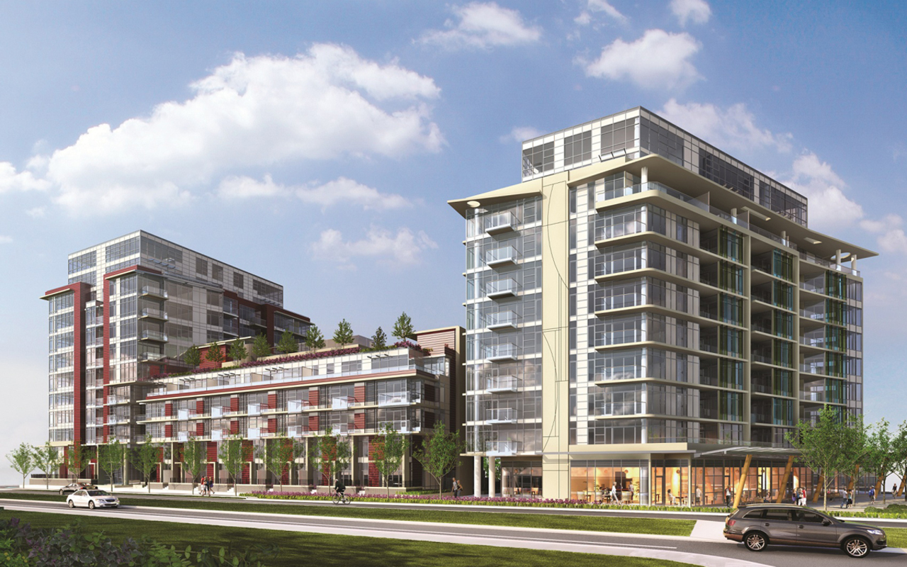 The One - Exterior at 514 - 38 W 1st Avenue, False Creek, Vancouver West