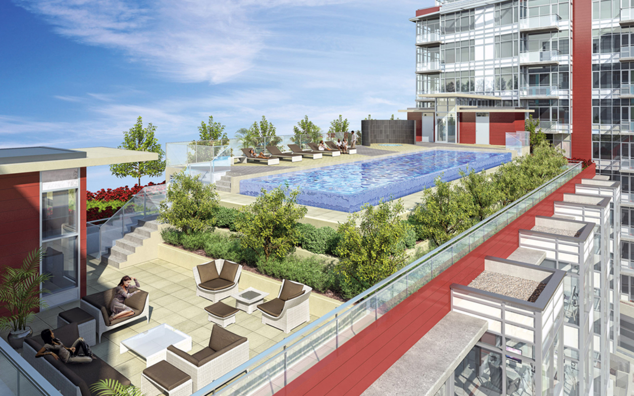 The One - Roof Deck at 514 - 38 W 1st Avenue, False Creek, Vancouver West