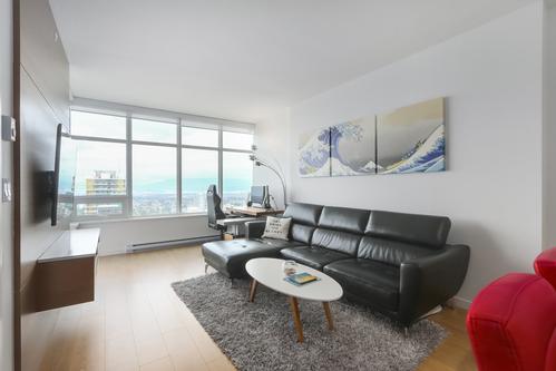 5808-6461 Telford Avenue - Living Room at 5808 - 6461 Telford Avenue, Metrotown, Burnaby South
