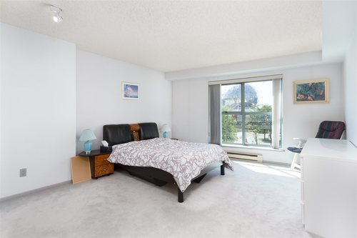 301-1188 Quebec Street Vancouver - Master Bedroom at 301 - 1188 Quebec Street, Mount Pleasant VE, Vancouver East