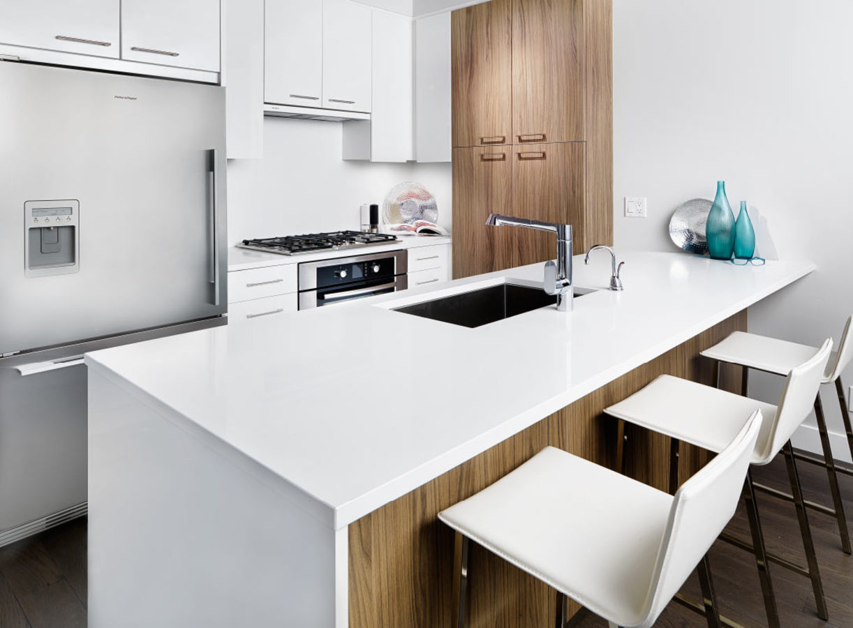 Forty Nine West - Kitchen at 6385 Cambie Street, Oakridge VW, Vancouver West