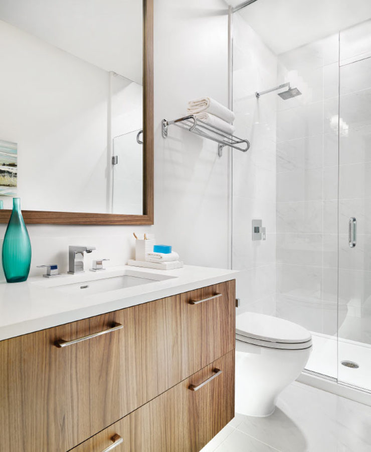 Forty Nine West - Ensuite at 6385 Cambie Street, Oakridge VW, Vancouver West