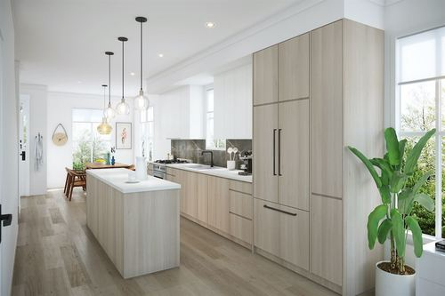 Toppen Ridge by Formwerks - Kitchen at 20 - 237 Ridgeway Avenue, Lower Lonsdale, North Vancouver