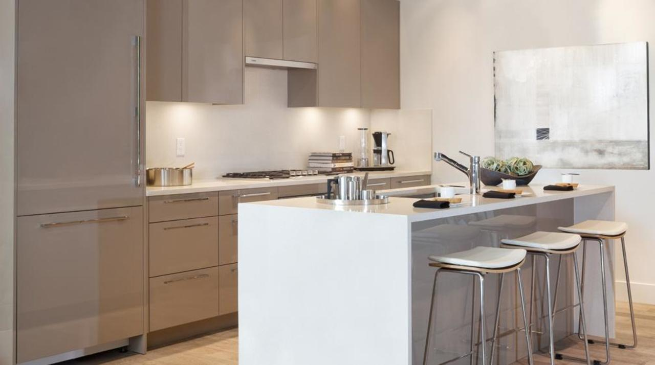 Parc Elise - Gaggenau kitchen at 308 - 4488 Cambie Street, Cambie, Vancouver West