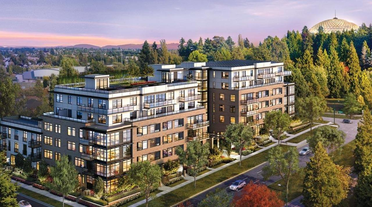 Parc Elise - Exterior at 201 - 4412 Cambie Street, Cambie, Vancouver West