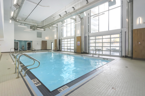 903-3557 Sawmill Crescent - Swimming Pool at 903 - 3557 Sawmill Crescent, South Marine, Vancouver East