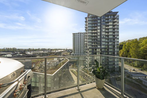 903-3557 Sawmill Crescent - Balcony at 903 - 3557 Sawmill Crescent, South Marine, Vancouver East