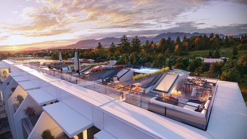 138 W Woodstock Avenue - Rooftop at 138 W Woodstock, Oakridge VW, Vancouver West