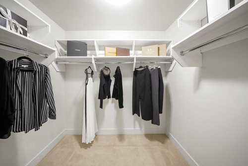 2404-1077 W. Cordova Street - Walk-in Closet at 2404 - 1077 W Cordova Street, Coal Harbour, Vancouver West
