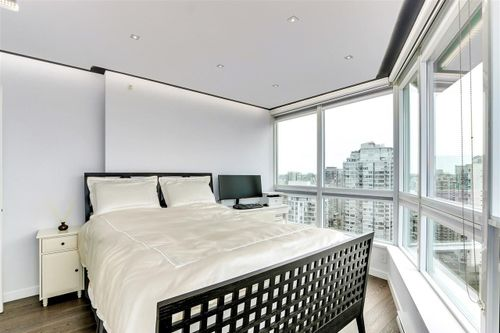 833 Seymour Street - Bedroom at 2306 - 833 Seymour Street, Downtown VW, Vancouver West
