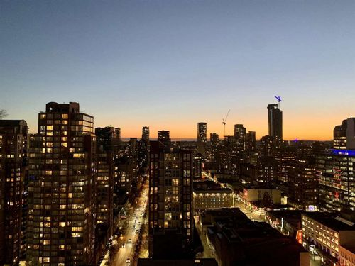833 Seymour Street - Sunset Views at 2306 - 833 Seymour Street, Downtown VW, Vancouver West