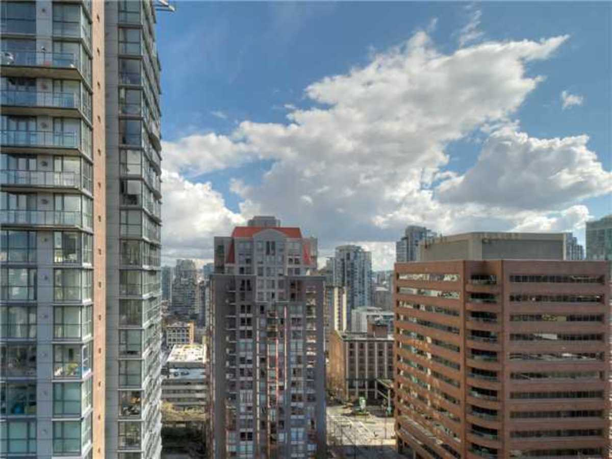 Wall Centre View at 1508 - 1050 Burrard Street, Downtown VW, Vancouver West