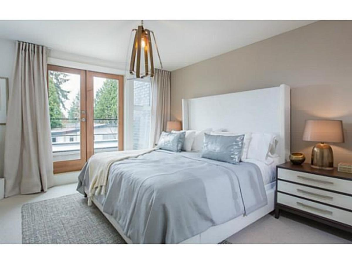 Hamilton by Listraor Master Bedroom at 8 - 6072 Oak Street, Oakridge VW, Vancouver West
