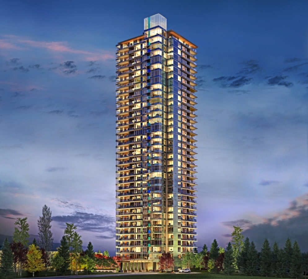Aldynne by Polygon On The Park Burnaby - Building Exterior at 1906 - 5883 Barker Street, Central Park BS, Burnaby South