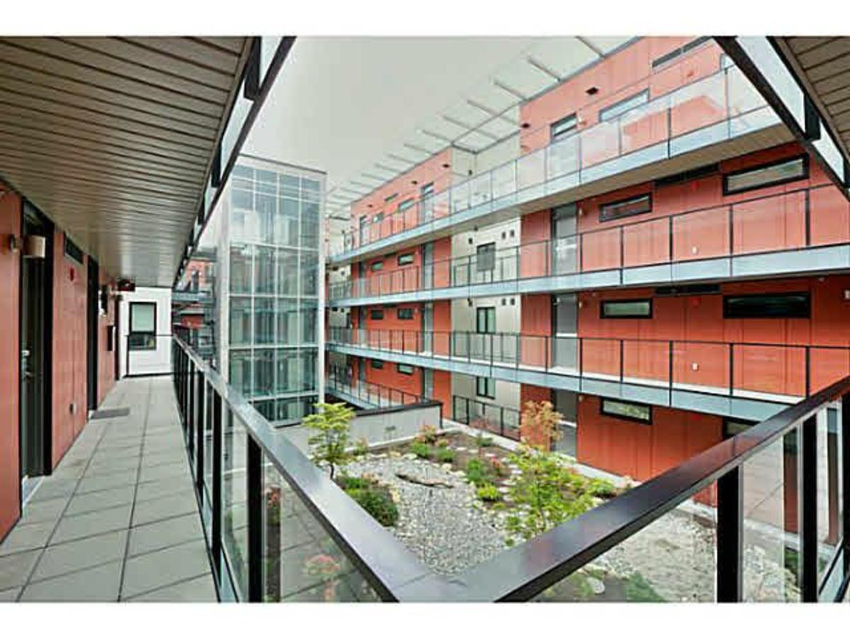 YU at UBC - courtyard at 323 - 5955 Birney Avenue, University VW, Vancouver West