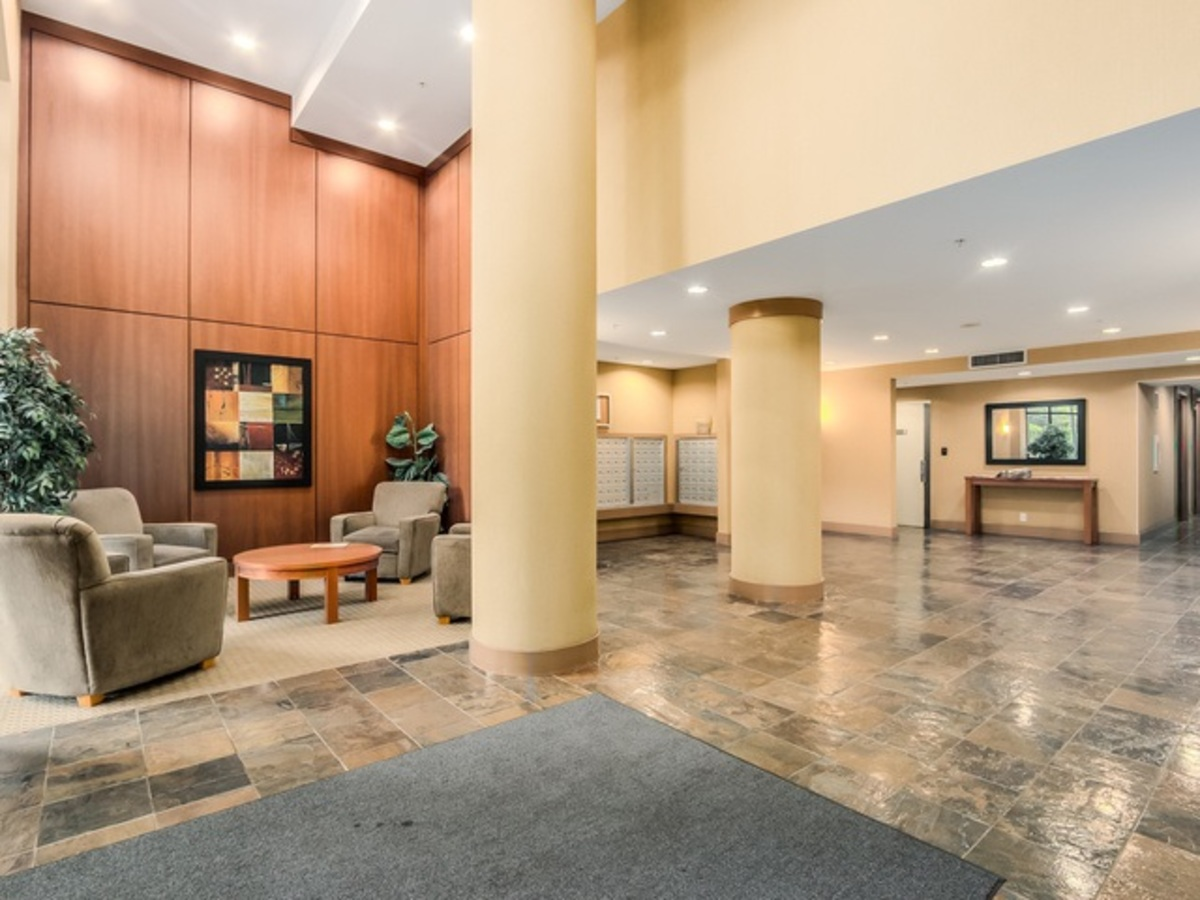 506-2138 Madison - Lobby at 506 - 2138 Madison Avenue, Brentwood Park, Burnaby North