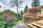 945 Keith Road - West Vancouver- South facing backyard at 945 Keith Road, Sentinel Hill, West Vancouver