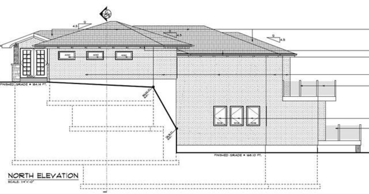 945 Keith Road - West Vancouver- Architectural drawing at 945 Keith Road, Sentinel Hill, West Vancouver