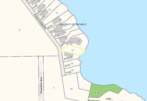 lot-17-poise-island-dr-plot-map-picture at LOT 17 Poise Island Drive, Sechelt District, Sunshine Coast