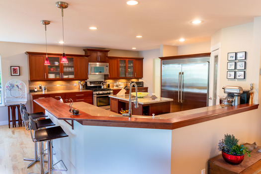 6194-s-gale-ave-kitchen-1-hdr at 6194 S Gale Avenue, Sechelt District, Sunshine Coast