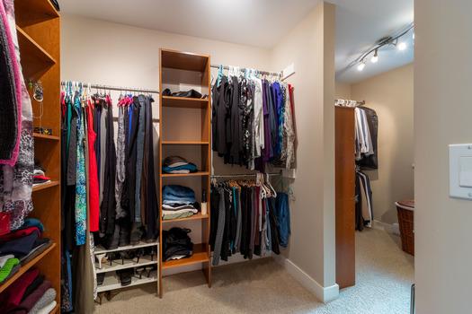 6194-s-gale-ave-master-closet-3-hdr at 6194 S Gale Avenue, Sechelt District, Sunshine Coast