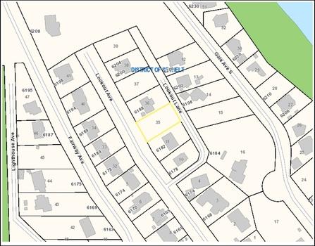 plan at 6186 Lookout Avenue, Sechelt District, Sunshine Coast