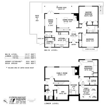 floor-plan at 7519 Sechelt Inlet Road, Sechelt District, Sunshine Coast