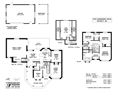 floor-plan at 5720 Nickerson Road, Sechelt District, Sunshine Coast