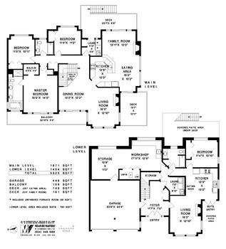 floor-plan at 4830 Bluegrouse Drive, Sechelt District, Sunshine Coast