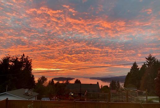 sunset2 at 5110 Betty Road, Sechelt District, Sunshine Coast