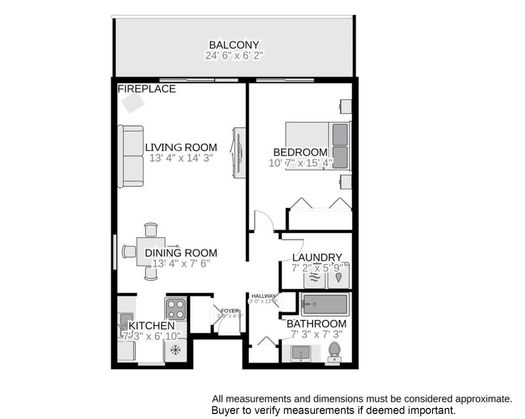 floor-plan1 at 206 - 10163 Mercer Road, Halfmn Bay Secret Cv Redroofs, Sunshine Coast