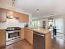 Kitchen at 206 - 3097 Lincoln Avenue, New Horizons, Coquitlam