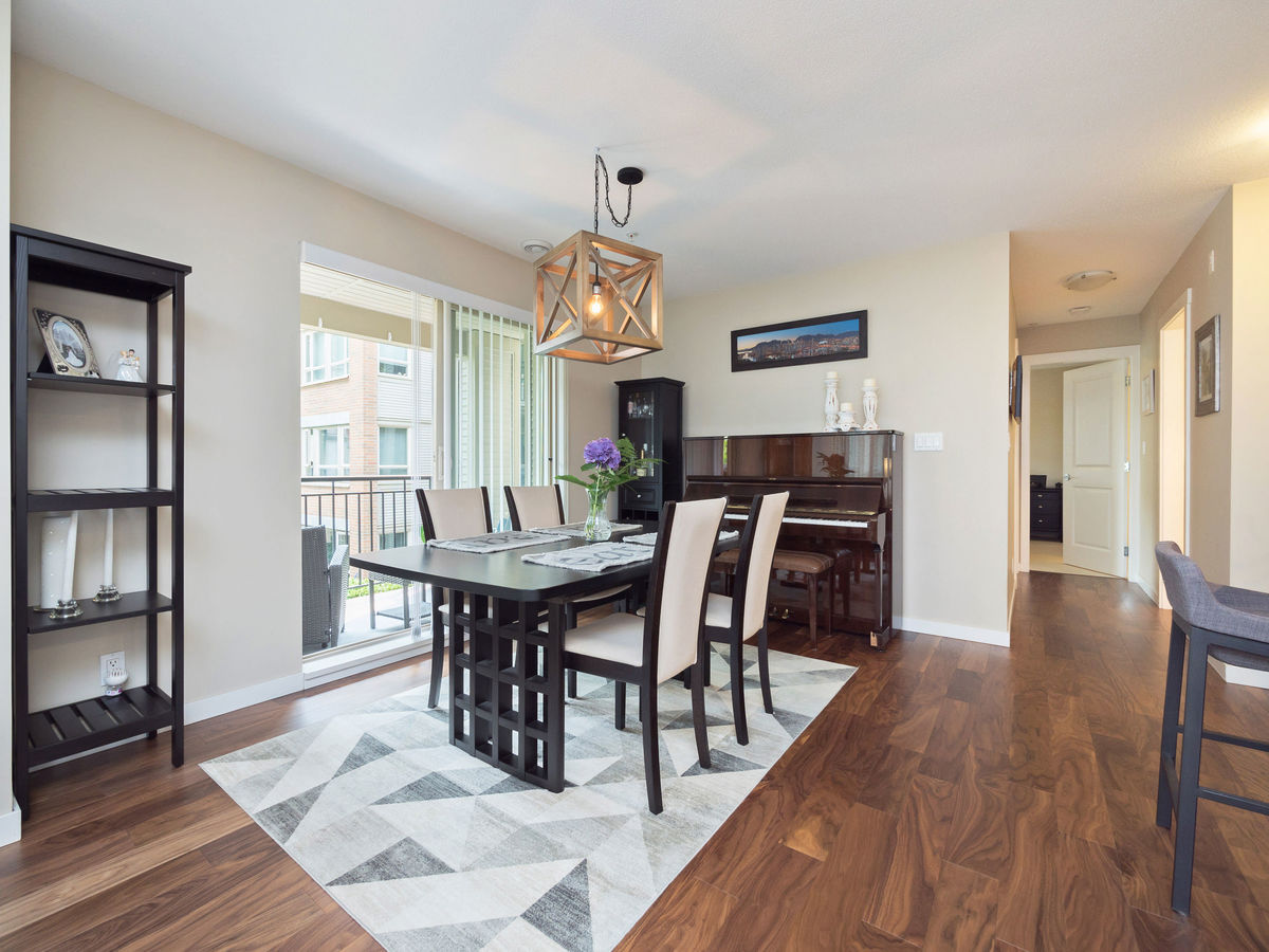 Dining Room at 206 - 3097 Lincoln Avenue, New Horizons, Coquitlam
