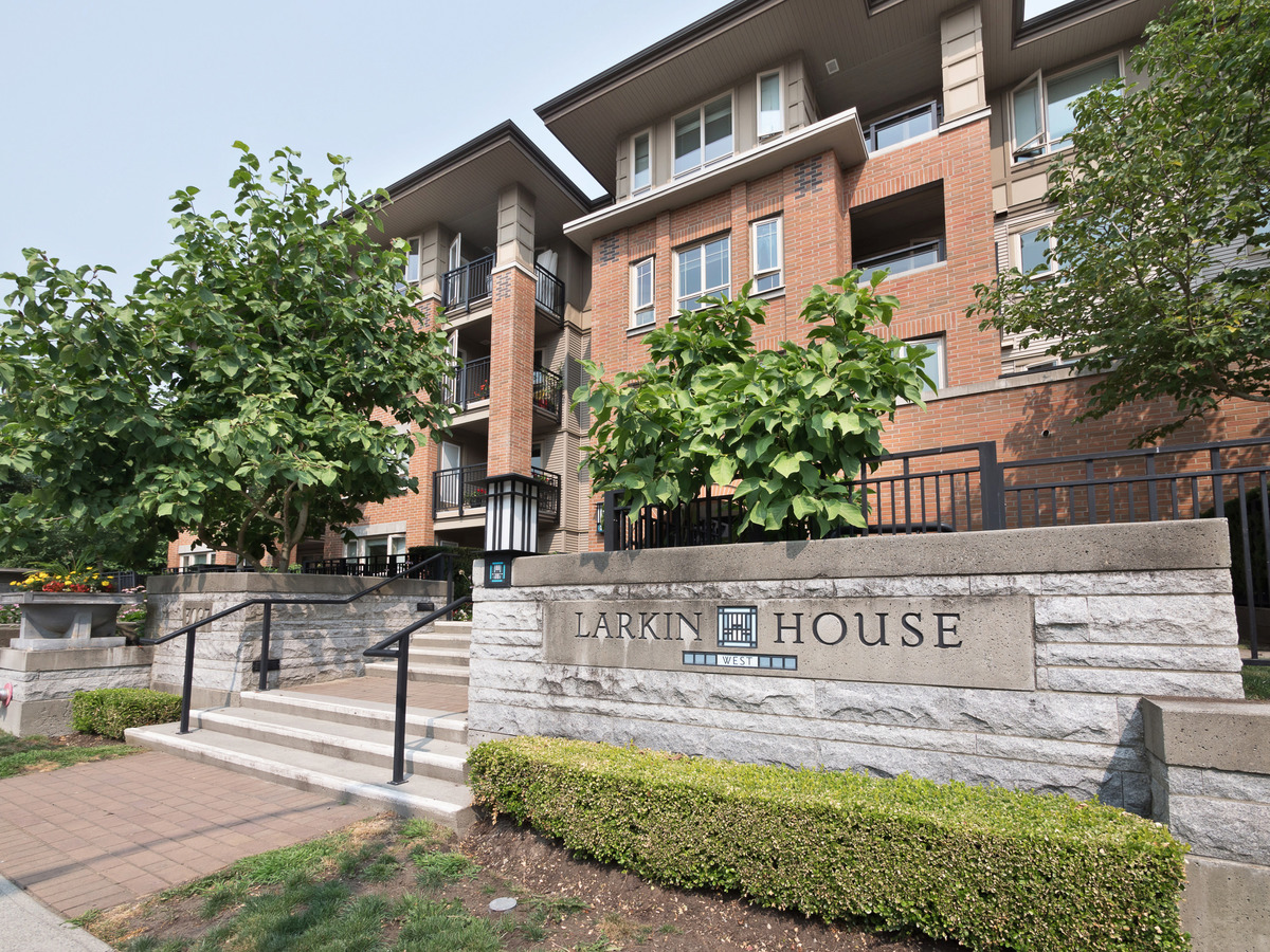 Larkin House West at 206 - 3097 Lincoln Avenue, New Horizons, Coquitlam