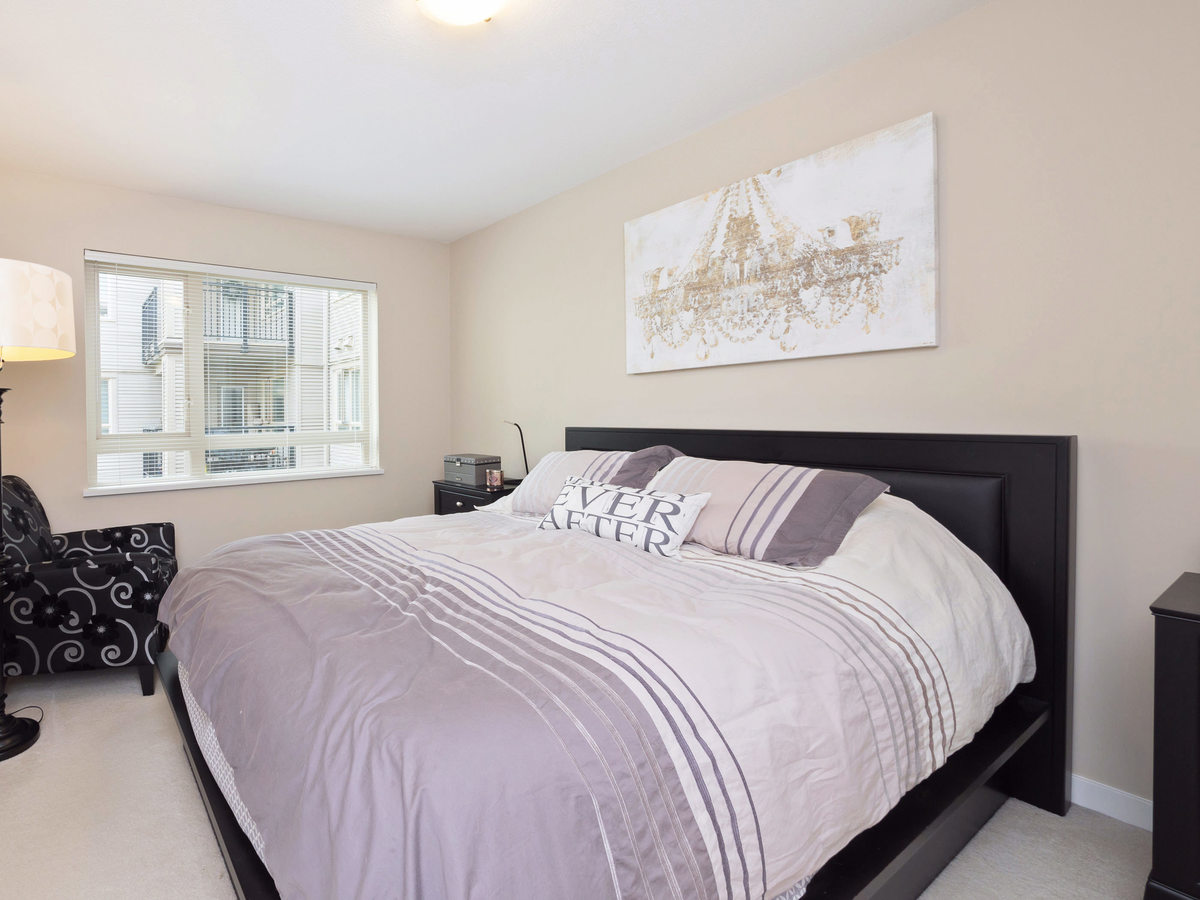 Master Bedroom at 206 - 3097 Lincoln Avenue, New Horizons, Coquitlam