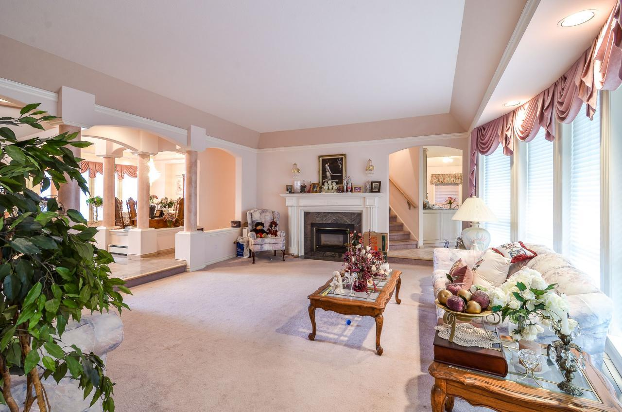 Living Room at 230 Fern Drive, Anmore, Port Moody