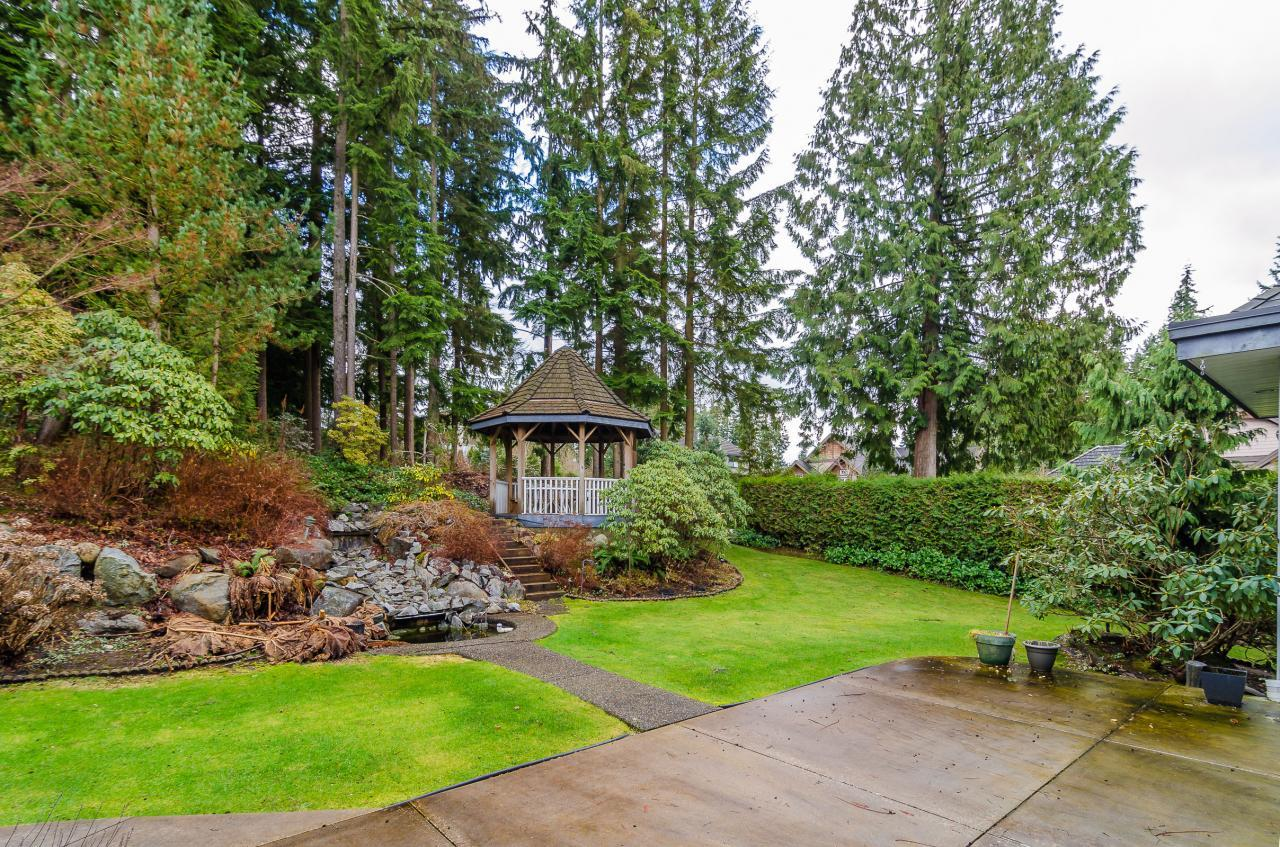 Backyard 1 at 230 Fern Drive, Anmore, Port Moody