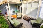 Patio at 42 - 7128 Stride Ave, Burnaby East