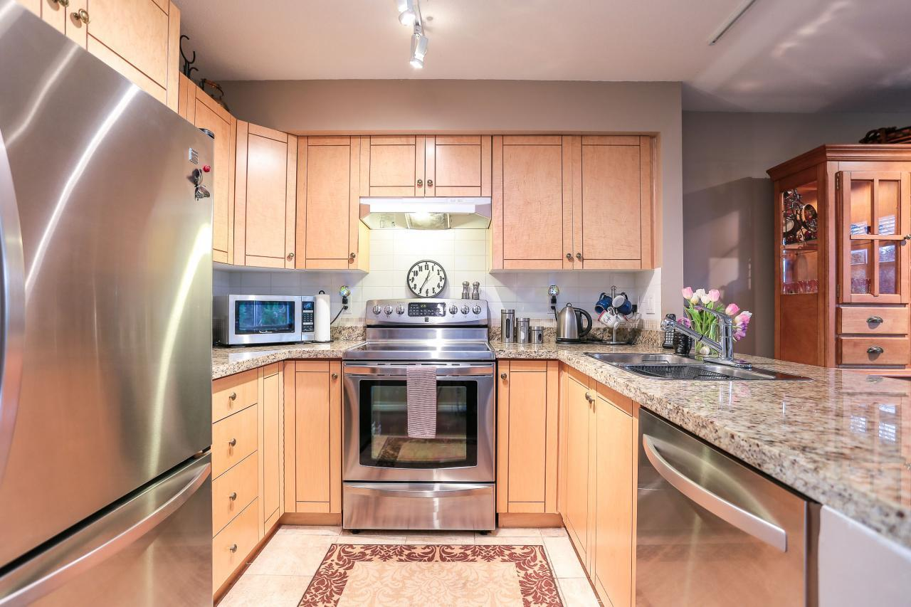Kitchen at 42 - 7128 Stride Ave, Burnaby East