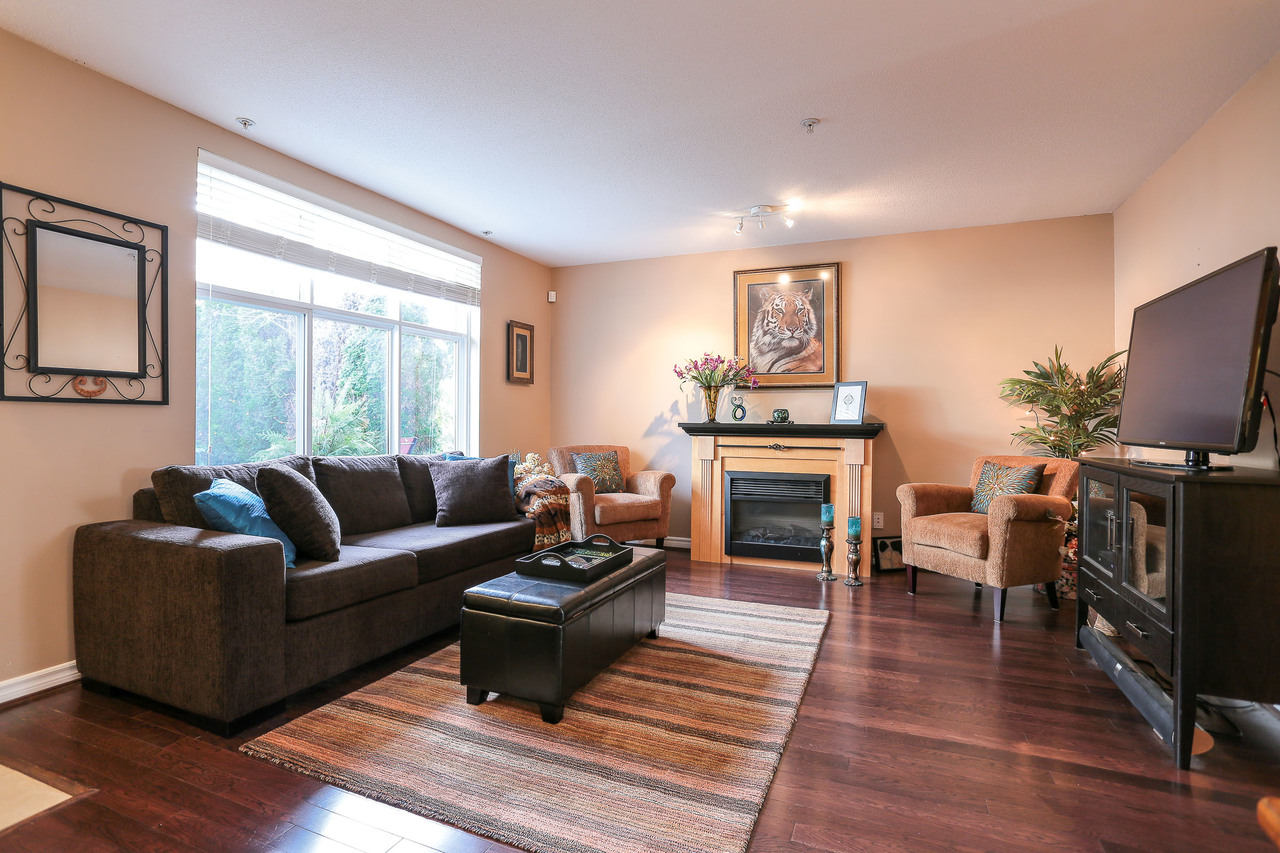 Living Room at 42 - 7128 Stride Ave, Burnaby East