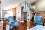 Living Room/ Dining Room at 2882 Nash Drive, Scott Creek, Coquitlam