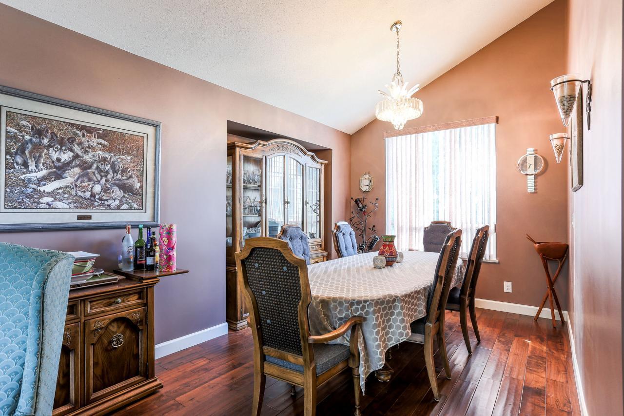 Dining Room at 2882 Nash Drive, Scott Creek, Coquitlam