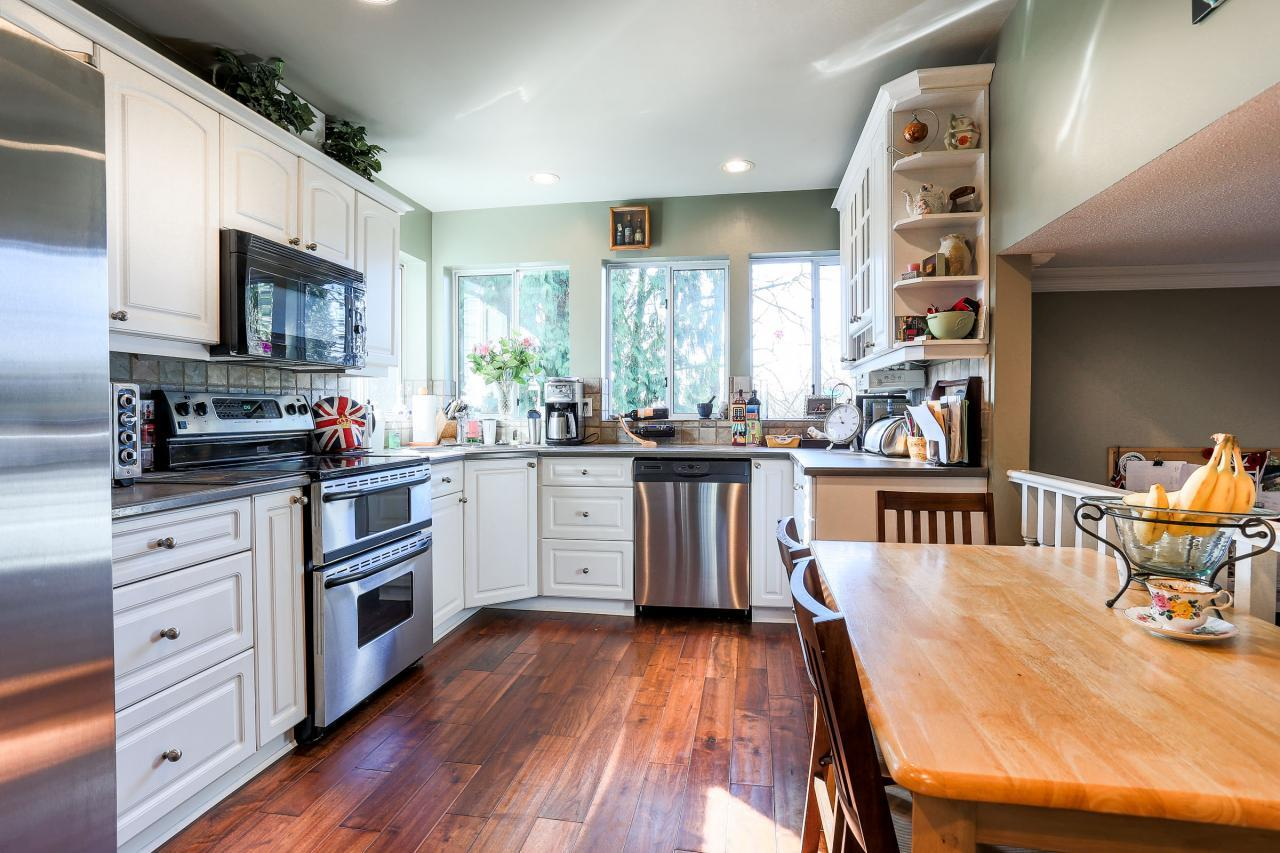 Main Kitchen at 2882 Nash Drive, Scott Creek, Coquitlam