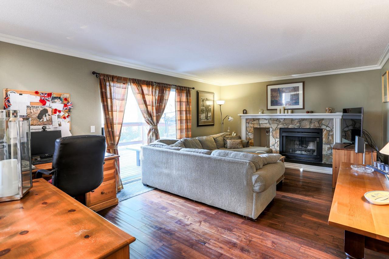 Family Room at 2882 Nash Drive, Scott Creek, Coquitlam