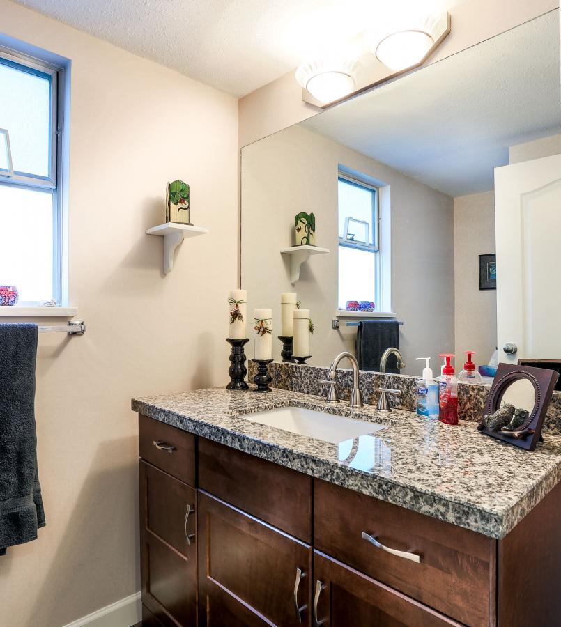 Bathroom Main Floor at 2882 Nash Drive, Scott Creek, Coquitlam