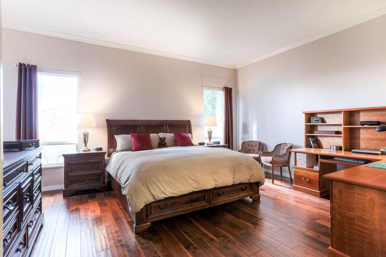 Master Bedroom at 2882 Nash Drive, Scott Creek, Coquitlam